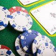 Poker & Casino — Stock Photo