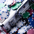 Poker Games — Stock Photo