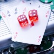 Stock Photo: Poker Games