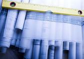 Architecture planning — Stock Photo