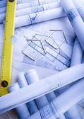 Plán architektury — Stock fotografie
