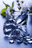 Natural jewel - Diamond — Stock Photo