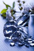 Joya natural - diamante — Foto de Stock