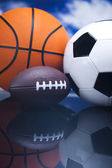 Sports Equipment detail — Stock Photo