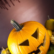 Pumpkin for Halloween — Stock Photo #31570457