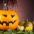 Halloween Pumpkin, Scary Jack — Stockfoto