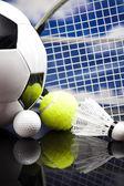 各種スポーツ用品 — ストック写真