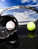 Attrezzature sportive — Foto Stock