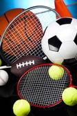 спортивный инвентарь — Стоковое фото