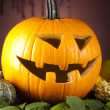 Pumpkin for Halloween — Stock Photo