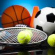 Stock Photo: Sports Equipment