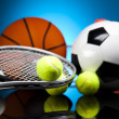 Sports Equipment — Stock fotografie #32565037