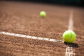 Sport, Tennis balls — Stock Photo