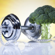 Stock Photo: Vegetable Fitness