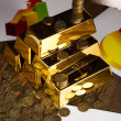 Gold bars — Stock Photo #34178031
