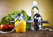 Fitness Food, diet, Vegetable — Stock Photo