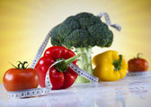 Vitamin and Fitness diet, Vegetable — Stock Photo