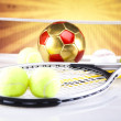 Sport equipment and balls — Stock Photo #34180333
