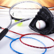 Sports equipment — Stock Photo #34181049