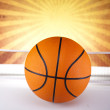 Basketball ball — Stock Photo #34182445