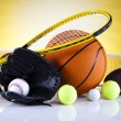 Sports Equipment — Stock fotografie #34182633