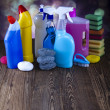 Cleaning supplies — Stock Photo #34185761