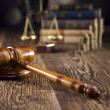 Law and justice concept — Stock Photo #34185895