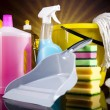 Cleaning products — Stock Photo #34186263