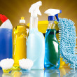 Cleaning products — Stock Photo #34186869