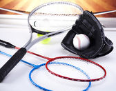 Sports equipment — Stock Photo
