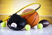 Spor malzemeleriequipo de deportes — Stok fotoğraf