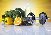 Fitness Food, diet, Vegetable — Foto de Stock