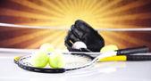 Sport utrustning detalj — Stockfoto