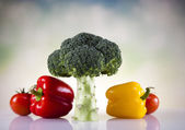 Vegetable Fitness — Stock Photo