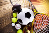 Sports Equipment — Stockfoto