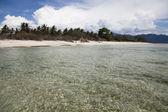 Island and lagoon — Stock Photo