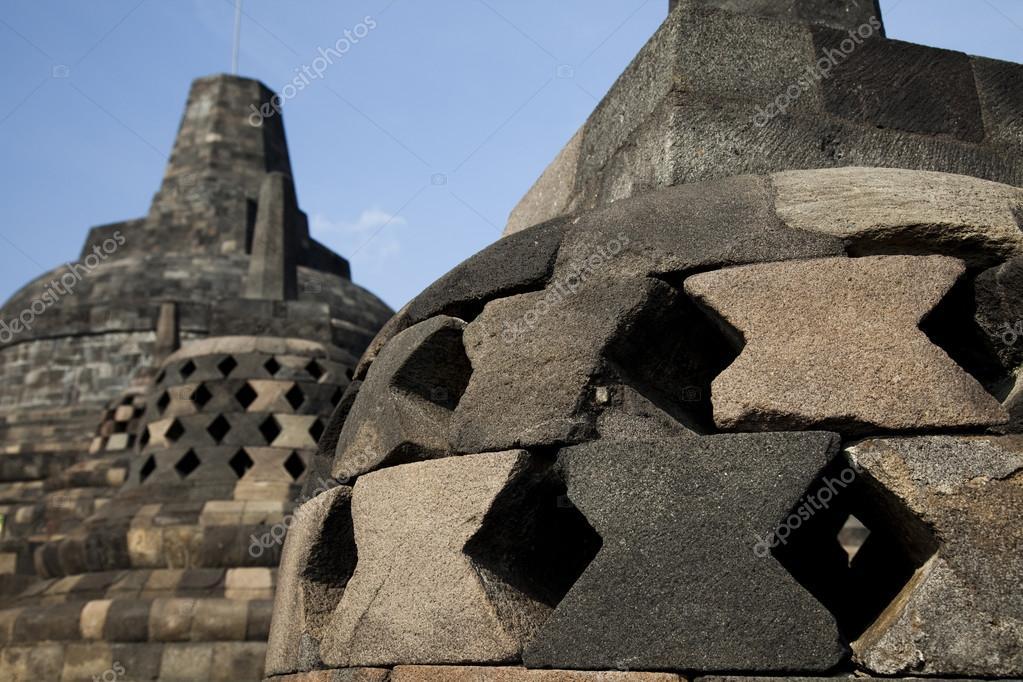 印度尼西亚婆罗浮屠佛塔