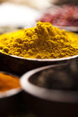 Curry, spices — Stock Photo
