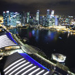 Singapore business district — Stockfoto #38979613