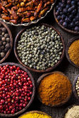 Spices, Cooking ingredient — Stock Photo
