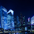 Stock Photo: Singapore business district