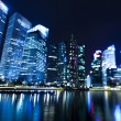 Singapore business district — Stockfoto #38983837