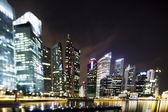 Singapur iş bölgesi — Stok fotoğraf