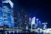 Quartier d'affaires de singapour — Photo