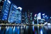 Singapur obchodní čtvrti — Stock fotografie