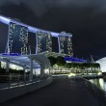 Marina Bay Sands Hotel — Stock Photo #38991469