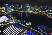 Ciudad de singapur — Foto de Stock