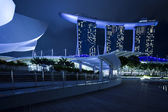 Marina bay sands hotel — Stockfoto