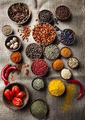 Assortiment van specerijen — Stockfoto