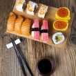 Stock Photo: Traditional sushi
